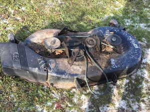 """42"""" craftsman lawn mower deck for Sale in Jersey Shore, PA"""