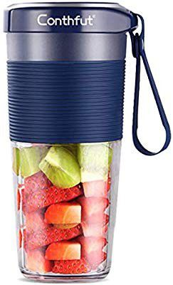 Portable Blender, Cordless Personal Smoothie Juicer, 350ml Mini Mixer, USB Rechargeable Fruit Blender, Juicer Cup with Cleaner Brushes for Home for Sale in Altamonte Springs, FL