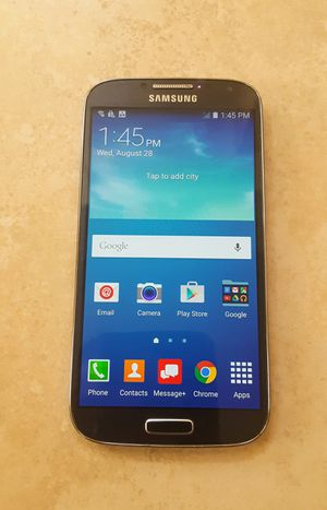 Samsung Galaxy S4 for Verizon - New Phone for Sale in Poway, CA