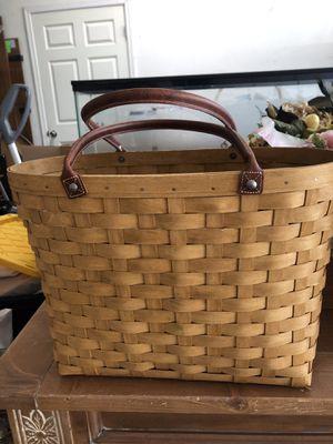 Large Longaberger Basket for Sale in Phoenix, AZ