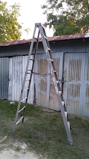 12 Ft. A-frame step ladder by Ridgid for Sale in Houston, TX