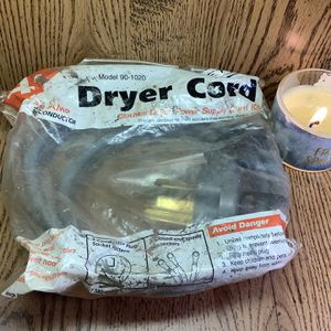 Dryer cord for Sale in Peoria Heights, IL