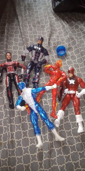 MARVEL LEGEND DC MULTIVERSE 6 INCH FIGURES 7.00 EACH OR TRADE FOR A TION FIGS BAF ARE 40.00 EACH for Sale in Heath, OH