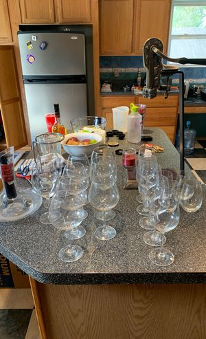 Premium wine set - Schott Zwiesel, decanter, decorative opener for Sale in Oldsmar, FL