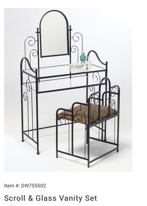 Scroll Vanity Set for Sale in St. Louis, MO