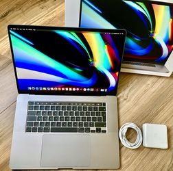 """May 2020 16"""" MacBook Pro 1TB SSD 8-Core i9 Touch Bar Retina Apple Warranty 2021 for Sale in Los Angeles,  CA"""
