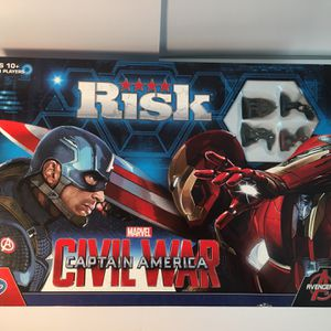 RISK Captain America Civil War Edition. Marvel. Avengers. Hasbro. NEW, OPEN BOX! for Sale in Winter Park, FL