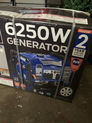 Brand new Ford Generator 6250 for Sale in Lutz, FL
