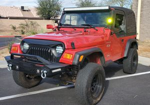 2002 Jeep Wrangler TJ 5-Speed Manual Transmission for Sale in Phoenix, AZ