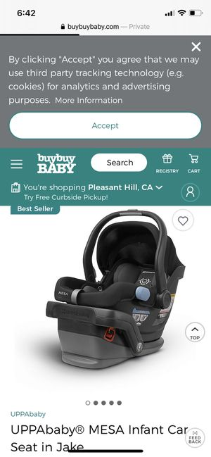 Uppababy Mesa infant car seat for Sale in Dublin, CA