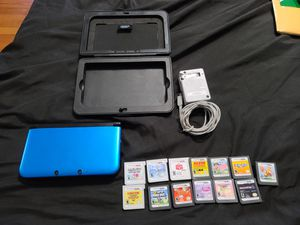 Nintendo 3DS XL 13 game bundle charger and case included for Sale in Hollywood, FL