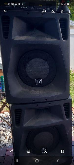 Speakers EV sx500 for Sale in Tampa, FL