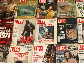 Vintage Life Magazines 71' & 72' for Sale in North Smithfield,  RI