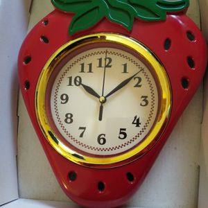 Strawberry Wall Clock for Sale in East Moriches, NY