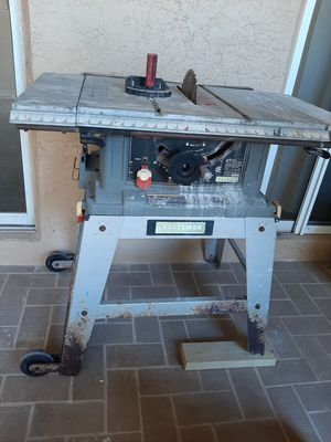 Old Craftman table saw for Sale in Boca Raton, FL