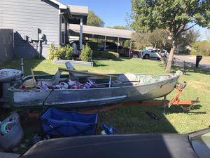 Boat and trailer for sale (outboard) for Sale in Converse, TX