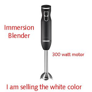 New Chefman 300-Watt 2-Speed Control Immersion Hand Blender for Sale in Lanham, MD