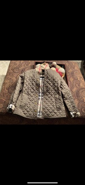 Burberry Quilted Jacket for Sale in Evesham Township, NJ