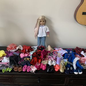 American Girl Doll Julie And Lots Of Clothes, Outfits, Accessories for Sale in Kirkland, WA