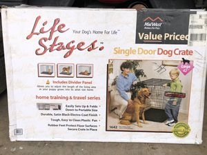 Large dog crate for Sale in Lake Worth, FL
