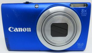 Canon A4000 IS Digital Camera 16.0 MP 8X Zoom Compact Size for Sale in Boca Raton, FL