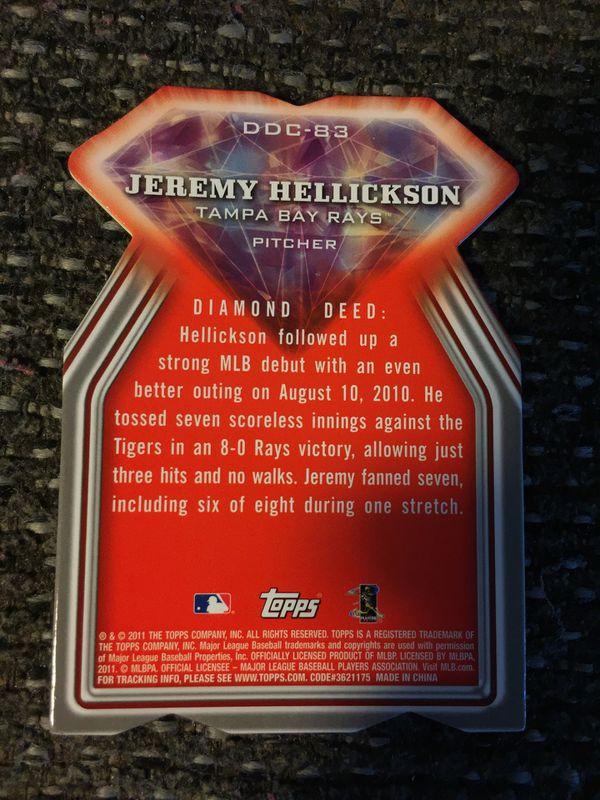 2011 Jeremy Hellickson Tampa bay rays