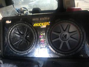 2 KICKER CVR12 / PORTED BOX for Sale in Washington, DC