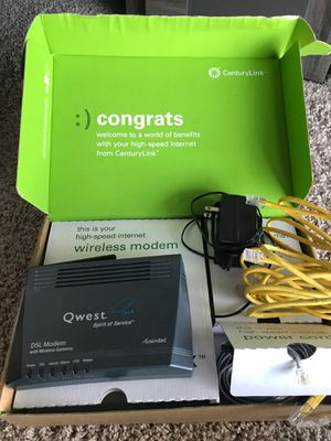 ActionTec DSL modem GT701-WG for Sale in Seattle, WA