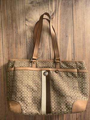 Coach large tote baby laptop bag for Sale in Hialeah, FL