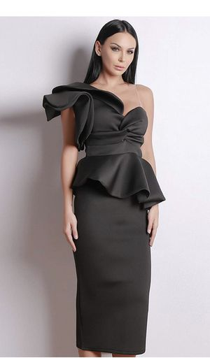 Brand new Black evening dress party wedding birthday size S and size M for Sale in Streamwood, IL