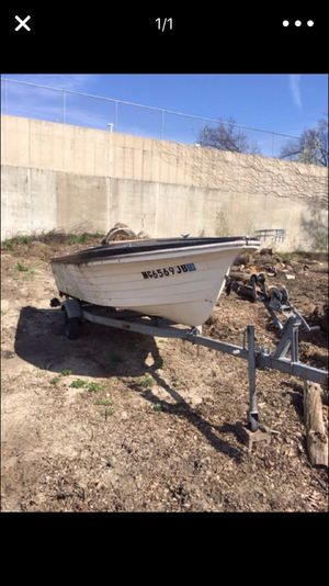 Boat and trailer for Sale in Caledonia, MI