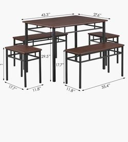 Dining Table With Bench for Sale in Los Angeles,  CA