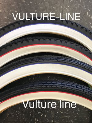 Beach cruiser tires 26x2.125 ,lowrider, vulture line for Sale in Los Angeles, CA