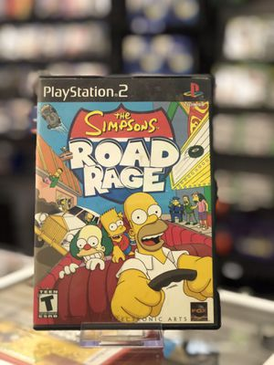 The Simpsons - Road Rage for the PS2 for Sale in Highland, CA
