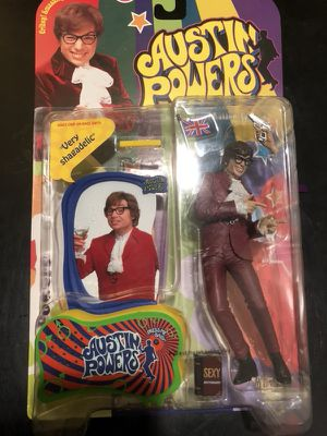 AUSTIN POWERS Ultra-cool action figure for Sale in Dallas, TX