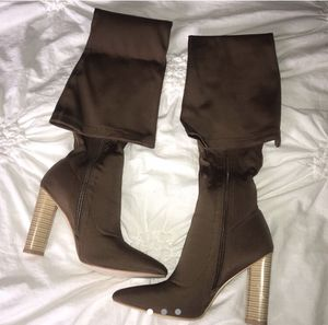 Brown thigh-high boots for Sale in Covington, LA