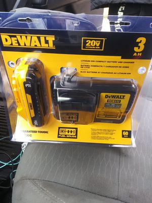 DEWALT 20-Volt Lith-Ion Battery with Charger for Sale in Seattle, WA