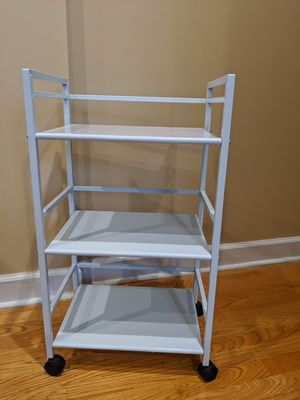 Metal 3 tier utility cart for Sale in Chicago, IL