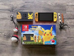 Nintendo Switch Console Let's Go Pikachu! + Poke Ball Plus Edition with extras for Sale in Norman, OK