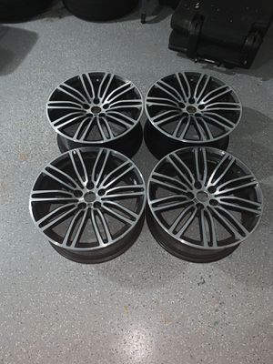 1. 2017-2019 BMW 5 Series, 2 of the rims are 9j 19 and the other two 8j 19. Read des for Sale in Roswell, GA