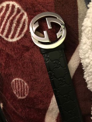 Gucci Belt Size 95/38 100% real have recipt for proof of purchase for Sale in Hayward, CA