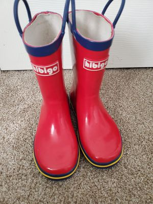 Kids rain boots size 13 for Sale in Denver, CO