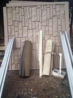 Plastic Brick Fence Panels for Sale in Yakima,  WA