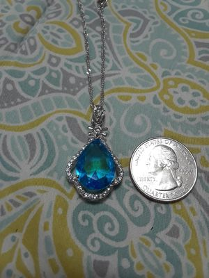 White gold plated necklace for Sale in Waukegan, IL
