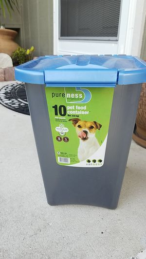 BRAND NEW PET FOOD CONTAINERS for Sale in Port St. Lucie, FL
