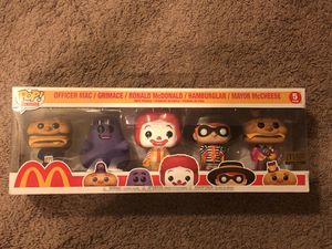 McDonald's five pack funko for Sale in Fircrest, WA