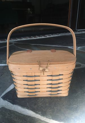 Longaberger Heartland Small Purse Basket for Sale in Mooresville, NC
