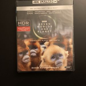 Seven Worlds, One Planet [4K Ultra HD blu-ray] for Sale in Rosedale, MD