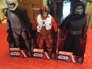 Star Wars 18-20 Inch Action Figures for Sale in Gibsonia, PA