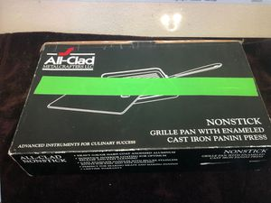 All-Clad cast iron Grille Pan w/Panini Press for Sale in Wesley Chapel, FL